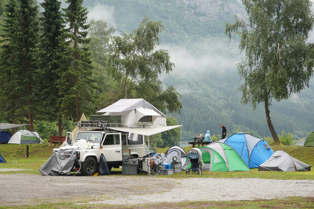 camping odda norway