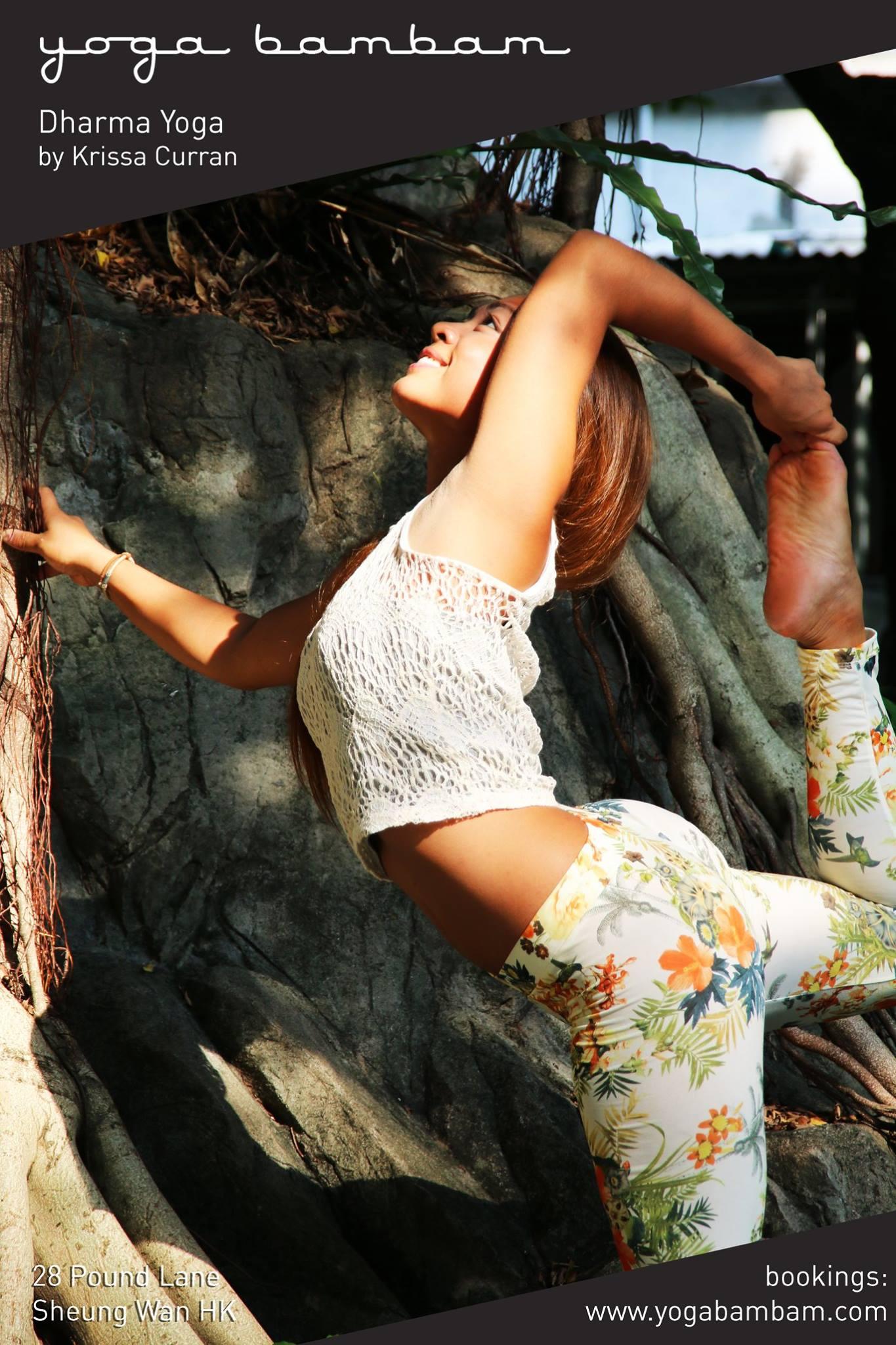 krissa dharma yoga yoba bam bam hong kong
