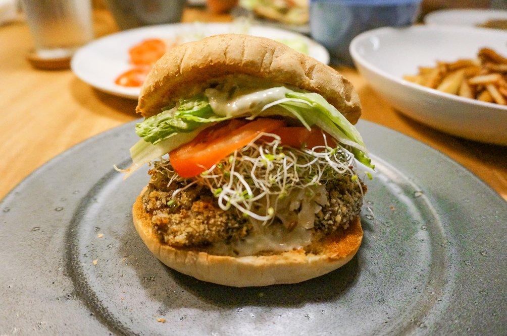 vegan fish burgers